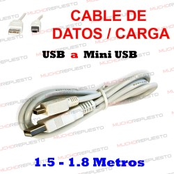 CABLE USB A A MINI-USB...