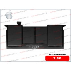 BATERIA ORIGINAL APPLE 7.6V Macbook Air A1495 / A1465 (2012-2013-2014-2015) 11""