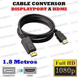 CABLE CONVERSOR DisplayPort...