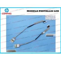 CABLE LCD HP COMPAQ 510 / 511 / 515 / 516 / 610 / 615 (PANTALLAS LED) Mod. 2