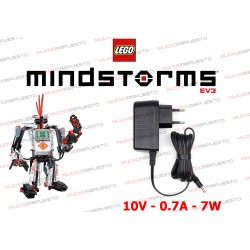 CARGADOR 10V 0.7A 7W LEGO MINDSTORMS Education EV3 / NXT / Power Functions