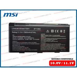 BATERIA MSI 11.1V 6600mAh...