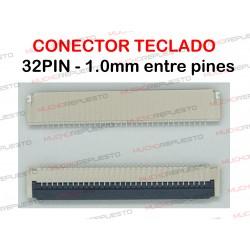CONECTOR FPC TECLADO 32PIN...