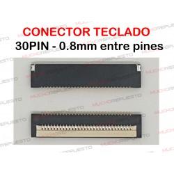CONECTOR FPC TECLADO 30PIN...
