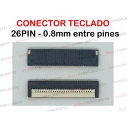 CONECTOR FPC TECLADO 26PIN...