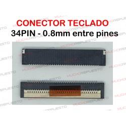 CONECTOR FPC TECLADO 34PIN...