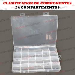 CLASIFICADOR DE COMPONENTES 24 COMPARTIMENTOS