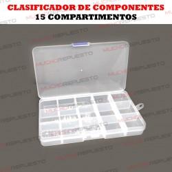 CLASIFICADOR DE COMPONENTES 15 COMPARTIMENTOS
