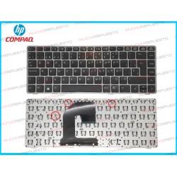 TECLADO HP Probook 6460 /6460B /6465 /6465B /6475 /6475B (Sin PointStick) Marco GRIS