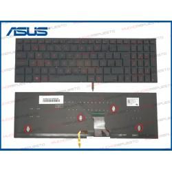TECLADO ASUS UX52 / UX52A / UX52V / UX52VS NEGRO ILUMINADO