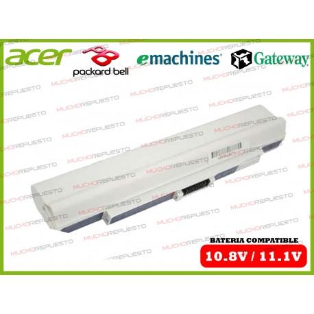BATERIA ACER 10.8V-11.1V Aspire One 531H/751H/ZA3/ZA8/ZG8 BLANCA
