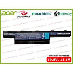BATERIA Gateway 10.8V-11.1V NV47H/NV49C/NV50A/NV52L/NV53A/NV55C/NV56R