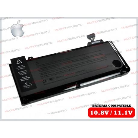 """BATERIA APPLE 10.8V-11.1V A1278 A1322 MB990 MC700 13"""" (2009 al 2012)"""