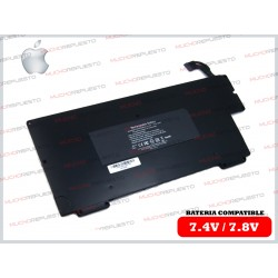 "BATERIA APPLE 7.4V Macbook Air A1237 A1245 A1304 MB003 MC233 MC234 13"" Negra"