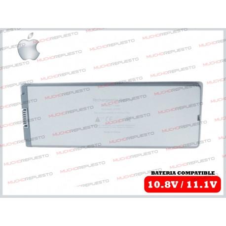 "BATERIA APPLE 10.8V MacBook A1185 / A1181 13"" BLANCA (AÑO 2008)"