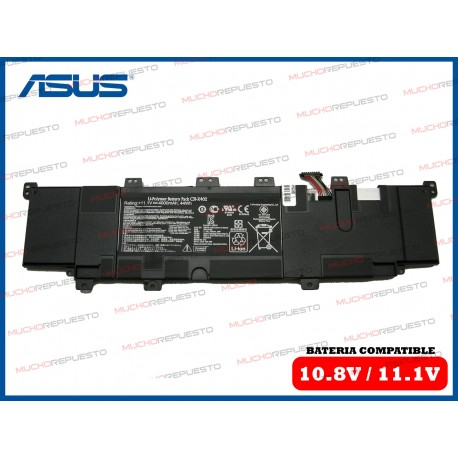 BATERIA ASUS 11.1V 4000mAh S300C /S300CA /S400C /S400CA /X402C /X402CA