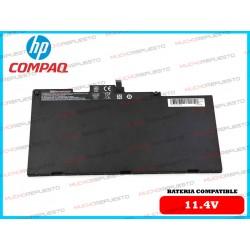 BATERIA HP 11.4V ZBook 14u...