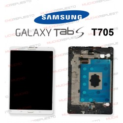"PANTALLA COMPLETA TABLET SAMSUNG Galaxy TAB S 8.6"" T705 BLANCA"