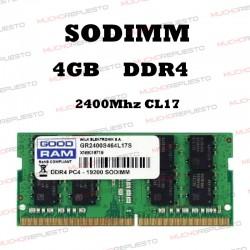 MEMORIA RAM SODIMM DDR4 4GB...