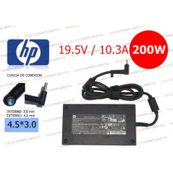 CARGADOR ORIGINAL HP 19.5V...