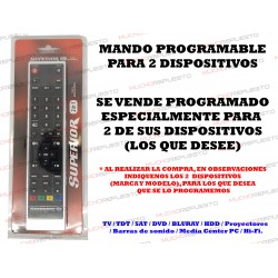 MANDO PROGRAMABLE SUPERIOR...