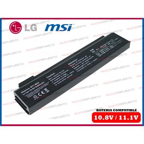 BATERIA LG 10.8V 4400mAh LG K1SERIES MSI MEGABOOK