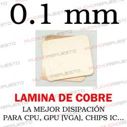 LAMINA DE COBRE 0.1mm PARA...