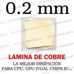LAMINA DE COBRE 0.2mm PARA...