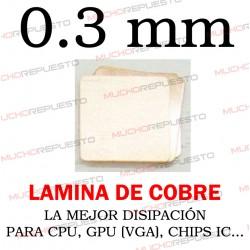 LAMINA DE COBRE 0.3mm PARA...
