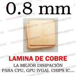 LAMINA DE COBRE 0.8mm PARA...