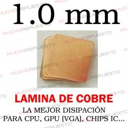 LAMINA DE COBRE 1.0mm PARA...