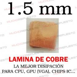 LAMINA DE COBRE 1.5mm PARA...