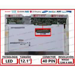 "PANTALLA 12.1"" LED..."