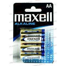 PILA ALCALINA MAXELL AA...