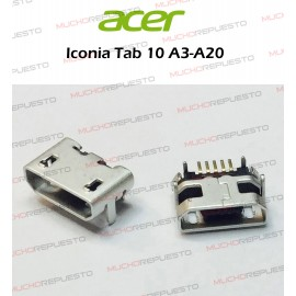 CONECTOR USB TABLET ACER...