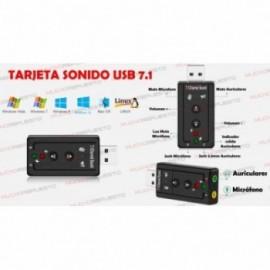 TARJETA DE SONIDO POR USB...