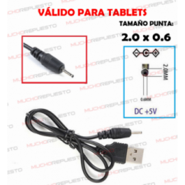 CABLE CARGA TABLETS...