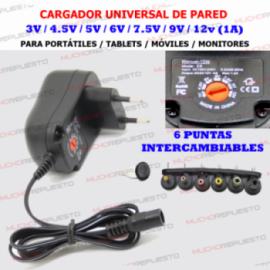 CARGADOR UNIVERSAL...