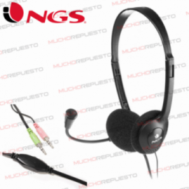 AURICULARES NGS AJUSTABLES...