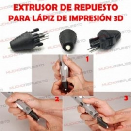 EXTRUSOR REPUESTO 1.75mm...