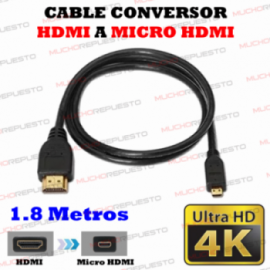 CABLE HDMI Macho A MICRO...