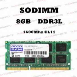 MEMORIA RAM SODIMM DDR3L...