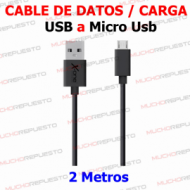 CABLE MICRO USB Plano X-One...