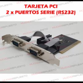 TARJETA PCI A 2 PUERTOS...