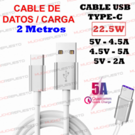 CABLE USB CARGA / DATOS A...