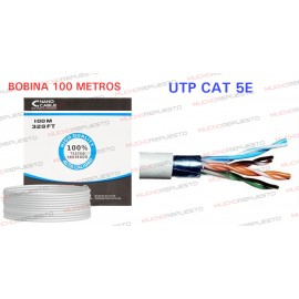 BOBINA CABLE RED UTP RJ45...