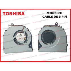 VENTILADOR TOSHIBA L50-A /L50D-A /L50T-A /L55-A /L55D-A (MODELO 3PIN)