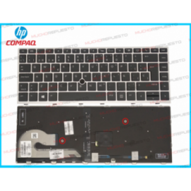 TECLADO HP 745 G5 G6/840 G5...