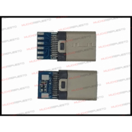 CONECTOR USB TYPE-C SMD...