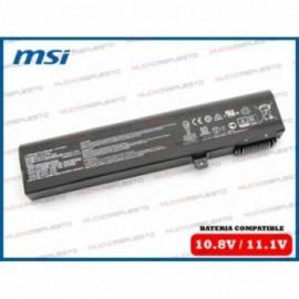 BATERIA MSI 10.8V 51Wh GP62...